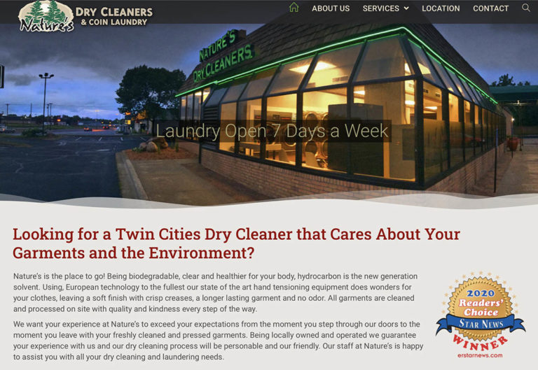 Natures's Dry Cleaners